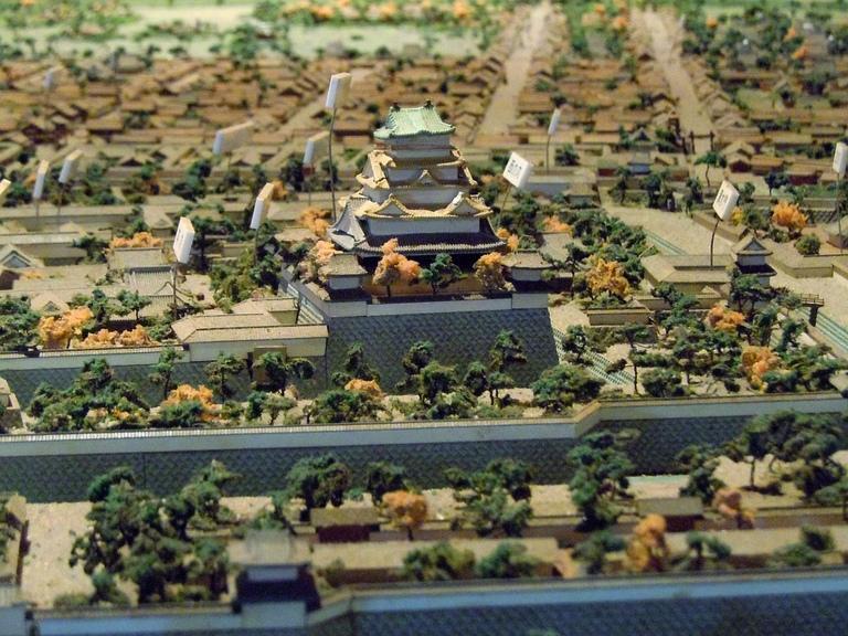 城下再現模型@駿府城.JPG
